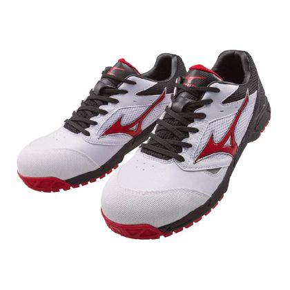作業用靴 ALMIGHTY LS ホワイト×レッド×ブラック 26.5cm C1GA170001265