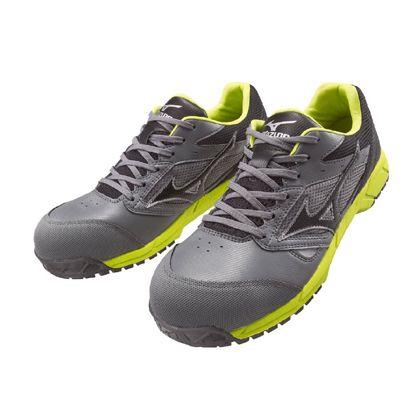 作業用靴 ALMIGHTY LS グレー×ブラック×グリーン 26.0cm C1GA170005260