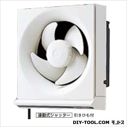 三菱電機 一般住宅用換気扇(台所用)  縦256.5mm:横233mm:奥139mm(動作時274mm) EX-15KH5