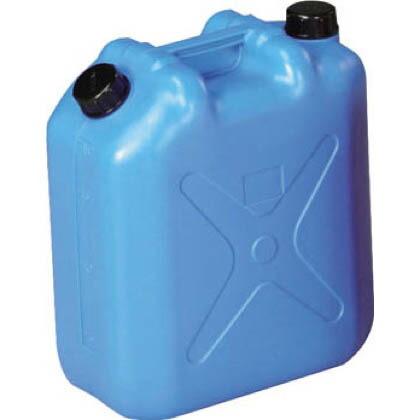 両口扁平缶(ポリタンク) ブルー (0483)