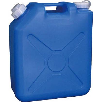 扁平缶 ブルー 20L 0484