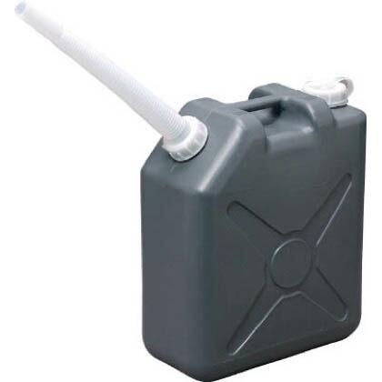 扁平缶グレー20L   0489