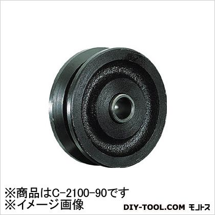 MK マルコン枠無重量車 90mm V型(C-2100-90) (×1個)   C210090