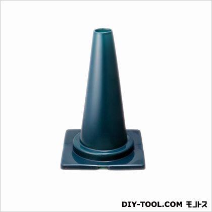 ミツギロン 道路保安用品 カラーコーン 約1/2 サイズ  ミニコーン グリーン 29.5×45×29.5cm CN-07   カラーコーン 標識