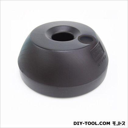 区画整備用品 スタンド用土台 ポリ台 ブラック 25.5×11×25.5cm (SF-15)