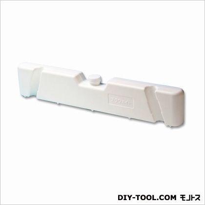 区画整備用品 プラバー プラケード用重石 プラウェイト ホワイト 4×8.5×45.2cm SF-44