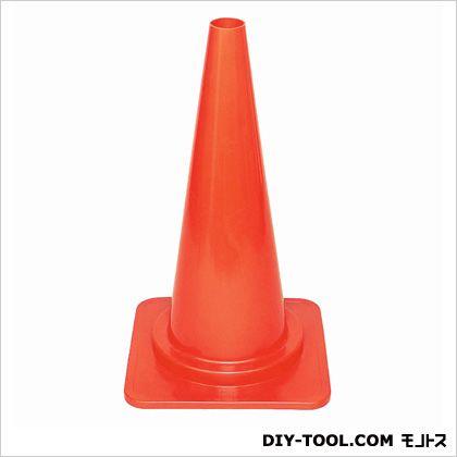 道路保安用品 やわらかカットコーン キャップ付 レッド 38×67×38cm (CN-13)