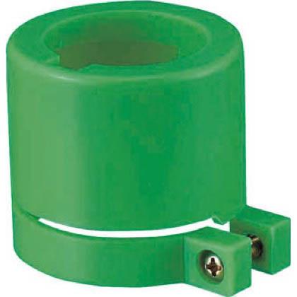 道路保安用品 電池ケース取付用 ソーラーキャップ グリーン  LE-08