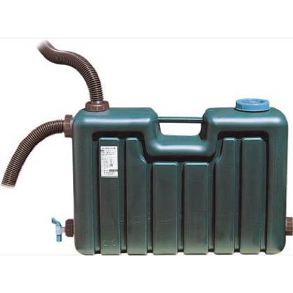 ミツギロン 屋外用貯水用品 雨水タンク ダークグリーン 80L EG-01