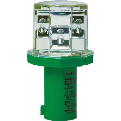 ミツギロン 道路保安用品 ソーラーパンチ グリーン 8×14.15×8cm LE-02