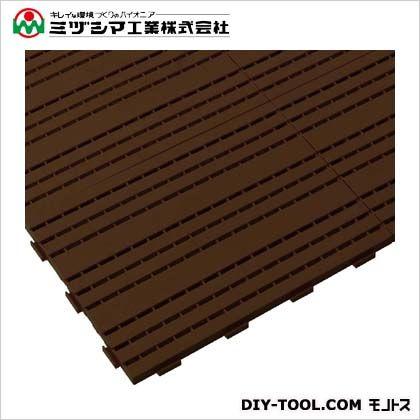 カラースノコジョイントRE ブラウン 450mm×600mm×25mm 600-0020