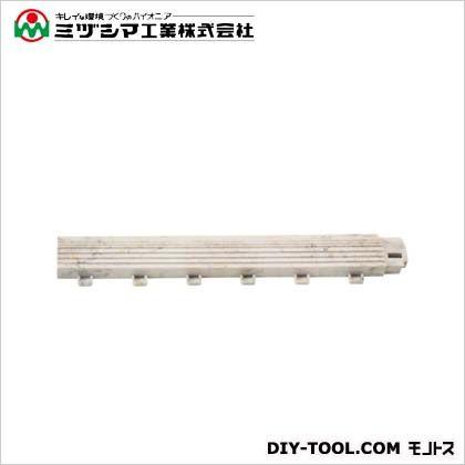 ミヅシマ工業 ファインフロアー 中フチ- セラグレー 50mm×300mm×18mm 421-0530