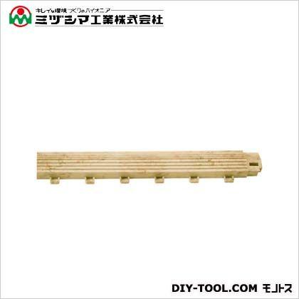 ミヅシマ工業 ファインフロアー 中フチ- セラベージュ 50mm×300mm×18mm 421-0590