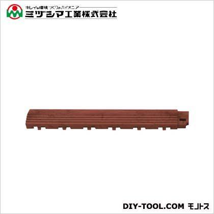 ミヅシマ工業 ファインフロアー 中フチ+ セラセピア 50mm×300mm×18mm 421-0610
