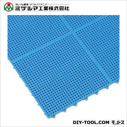 サワーチェッカー ブルー 300mm×300mm×13mm 500-0010