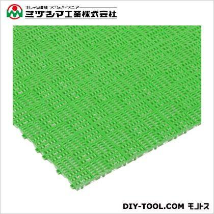 クロスラインマットS グリーン 150mm×150mm×15mm 421-0360