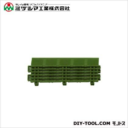 チェックチェッカー中フチ+ グリーン 65mm×150mm×15mm 420-0150