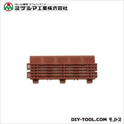 チェックチェッカー 中フチ- ブラウン 65mm×150mm×15mm 420-0220