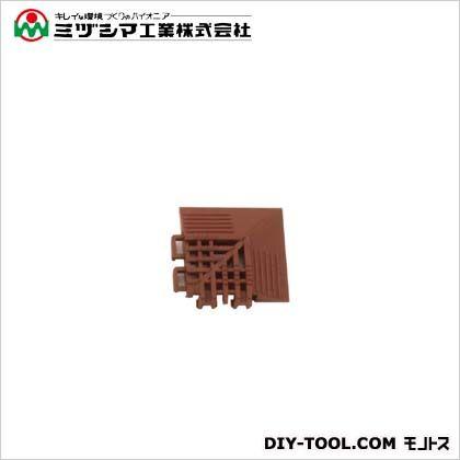 チェックチェッカーコーナー ブラウン 65mm×65mm×15mm 420-0250
