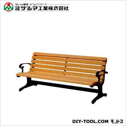 【送料無料】ミヅシマ工業 ベンチW1(木製ベンチ)  間口1900mm×奥行685mm×高さ745mm 240-0200  ベンチ施設用品