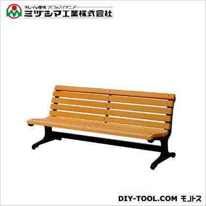 【送料無料】ミヅシマ工業 ベンチW2(木製ベンチ)  間口1800mm×奥行685mm×高さ745mm 240-0210  ベンチ施設用品