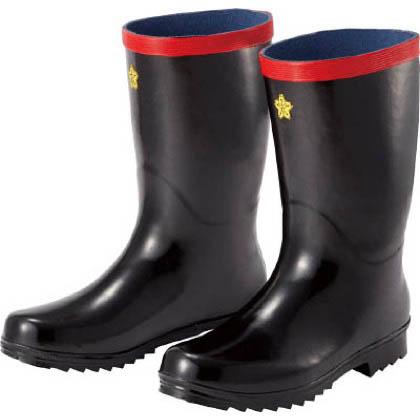 ミドリ安全 踏抜き防止板入りゴム長靴  24.0cm SDNG24.0