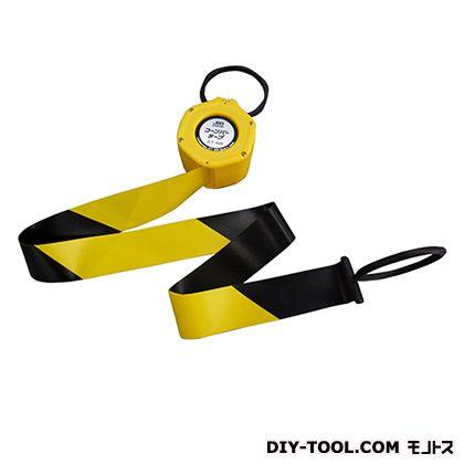 コーンバーテープ 黄色 最長4m JCT-400 1 個