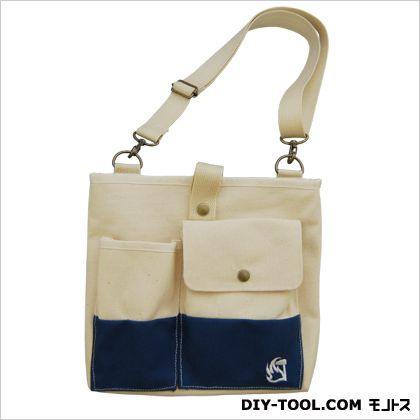 みきかじや村 ガーデンバック ネイビー 縦21×横24×マチ3cm (TS154) トートタイプガーデンバッグ 園芸用バッグ