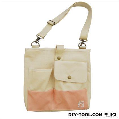 みきかじや村 ガーデンバック サクラ 縦21×横24×マチ3cm (TS155) トートタイプガーデンバッグ 園芸用バッグ