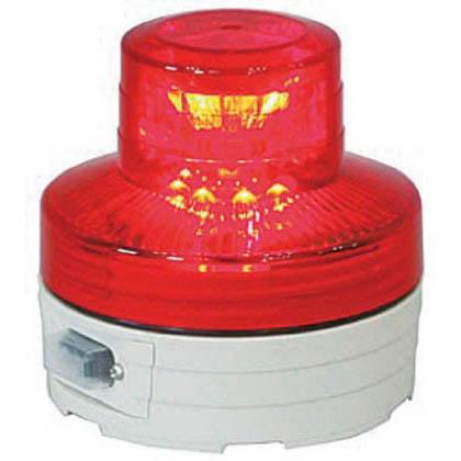 日動工業 電池式LED回転灯ニコUFO 夜間自動点灯タイプ 赤  NUBR