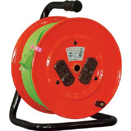 電工ドラム 標準型100Vドラム 2芯 30m (×1台) (NR304D)