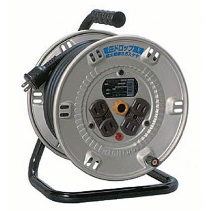 電工ドラム スタミナリール100V 2芯 20m (×1台) (NP204F)