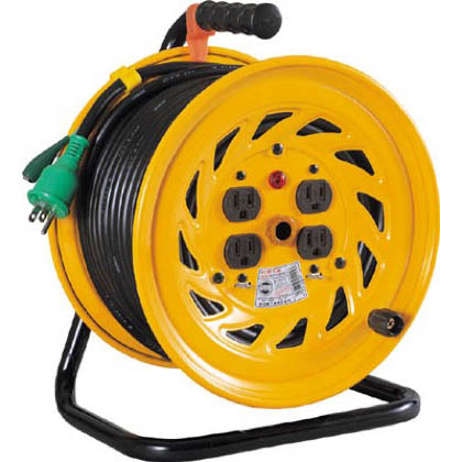 電工ドラム 標準型100Vドラム アース付(×1台)NF-E54 50m (NFE54)