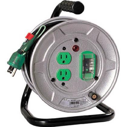 電工ドラム標準型100Vドラムアース漏電しゃ断器付10m   NS-EB12