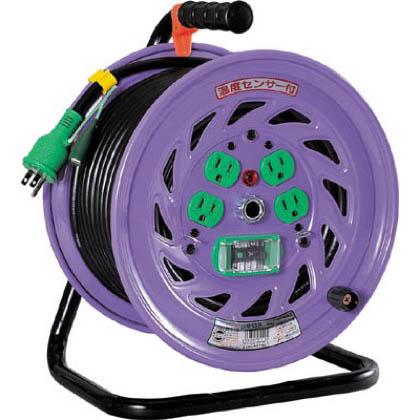 電工ドラム標準型100Vドラムアース漏電しゃ断器付30m   NF-EB34