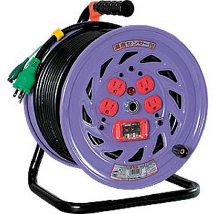 電工ドラム 標準型100Vドラム アース過負荷漏電しゃ断器付 30m (×1台)   NFEK34