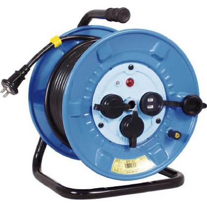 電工ドラム防雨防塵型100Vドラム2芯30m   NPW-303