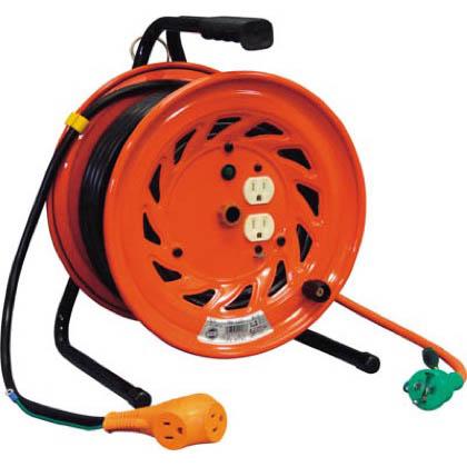 電工ドラム びっくリール 100V アース付 30m (×1台) (RNDE30S)