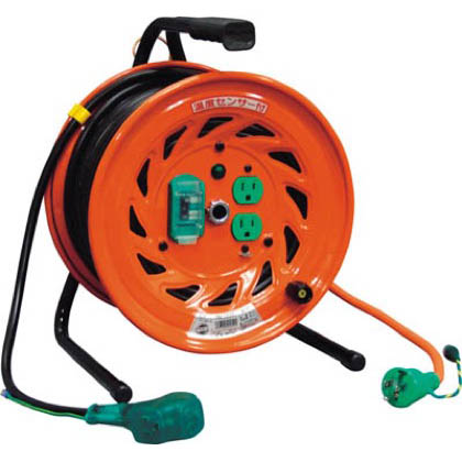 電工ドラムびっくリール100Vアース漏電しゃ断器付30m   RND-EB30S