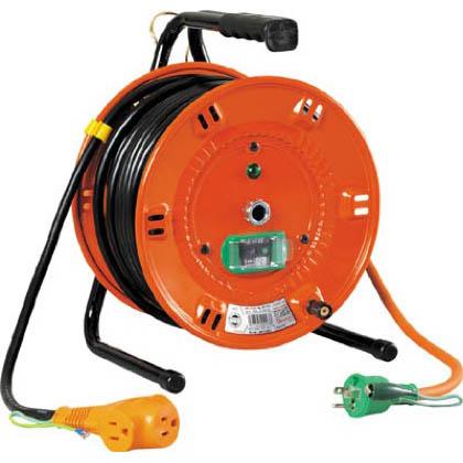 電工ドラムびっくリール100Vアース漏電しゃ断器付30m   NL-EB30S