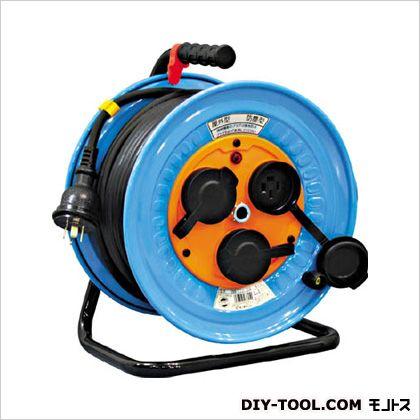 電工ドラム 防雨防塵型三相200V 3.5sq電線アース付 30m (×1台)   DNWE330F20A