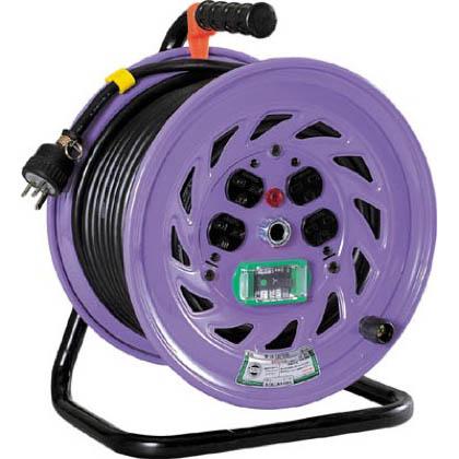 電工ドラム 単相200Vドラム アース漏電しゃ断器付 30m (×1台)   NFEB23015A