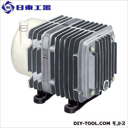 日東工器 コンプレッサー 低圧 幅×奥行×高さ:10.4×17.5×14.2cm (AC0602) ミニコンプレッサー エアーコンプレッサー