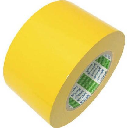 ラインテープ ES-D 黄  100mm×50m 100ESDY 1 巻