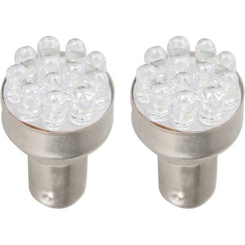 LEDバルブ 12連高輝度砲弾型ダブル球 ホワイト  13010376