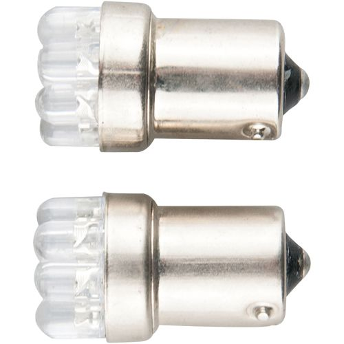 LEDバルブ 9連高輝度 G18 180度 ホワイト G18 13010381 2 個