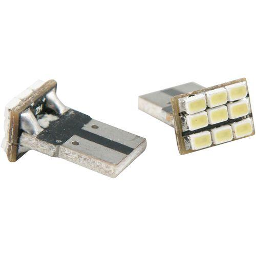 LEDバルブ 9連高輝度 ホワイト T10 13010383 2 個