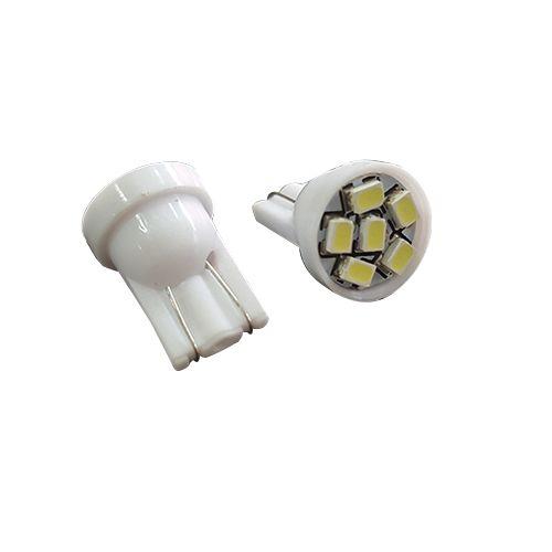 LEDバルブ 6連高輝度 ホワイト T10 13010388 2 個