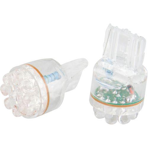 LEDバルブ 9連高輝度 ホワイト T20 13010389 2 個