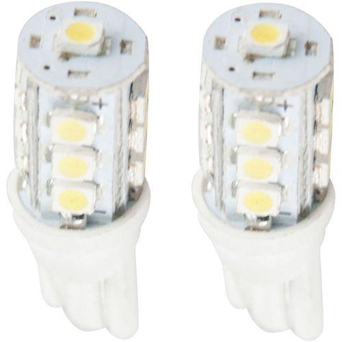 LEDバルブ13連高輝度 SMD ホワイト T10 13010391 2 個